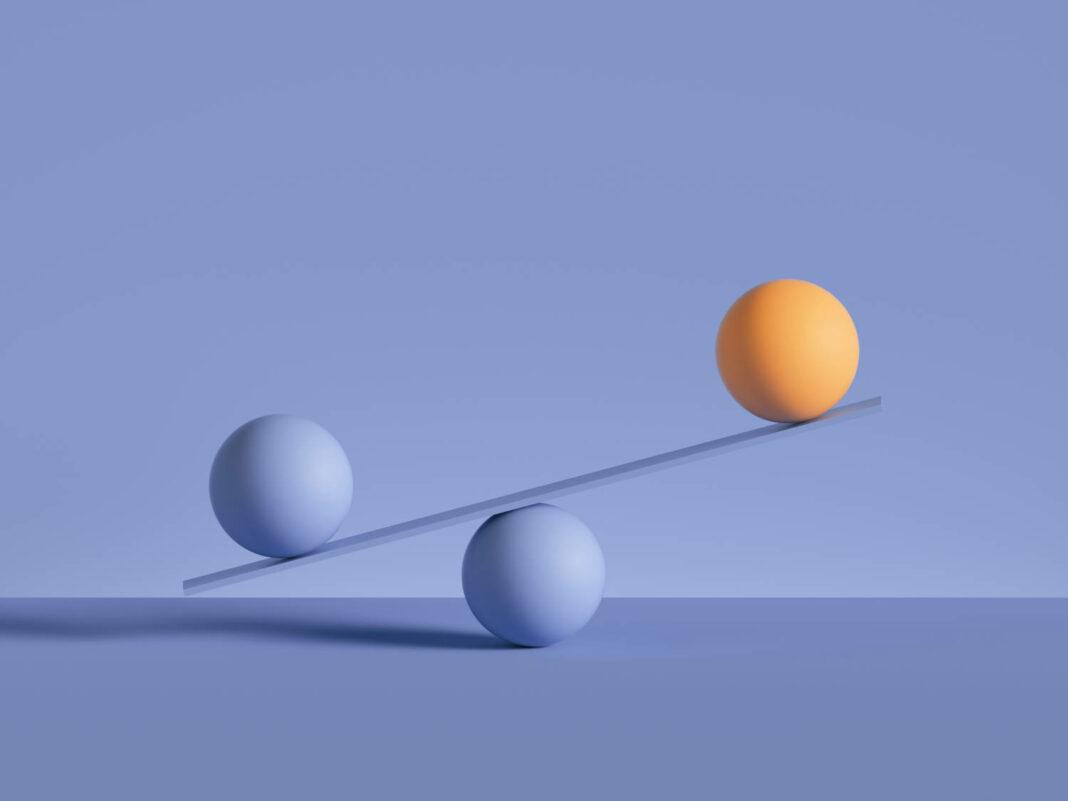 Scales 3d concept