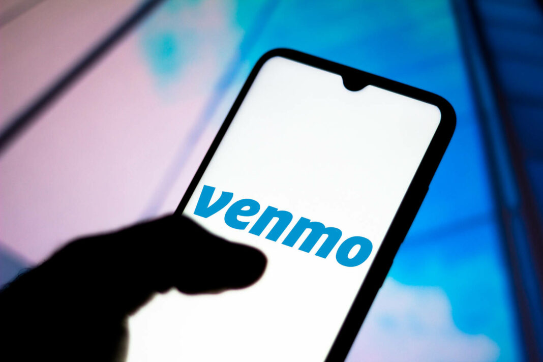Venmo app on mobile phone