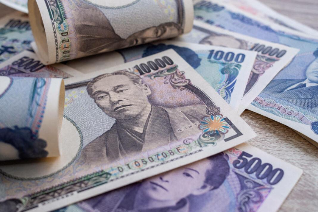 Japanese yen notes