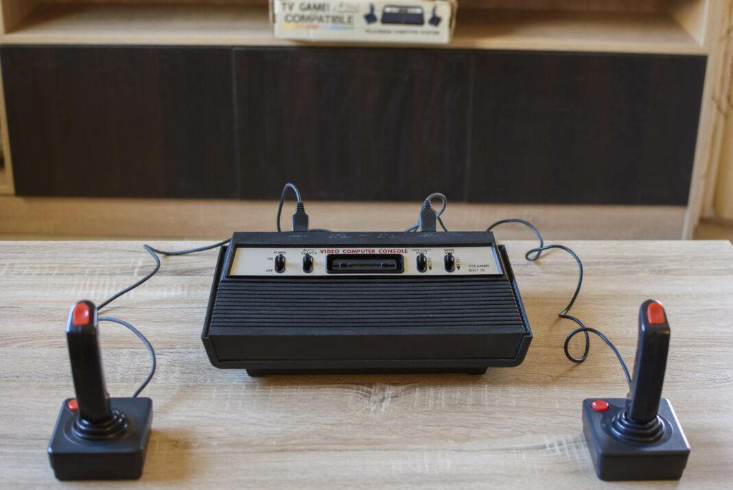 The historical Atari 2600 Video Computer System running