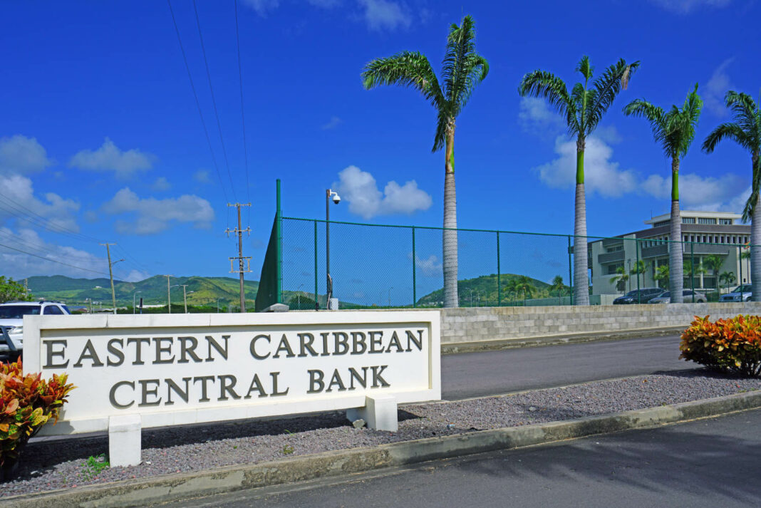 Headquarters of the Eastern Caribbean Central Bank