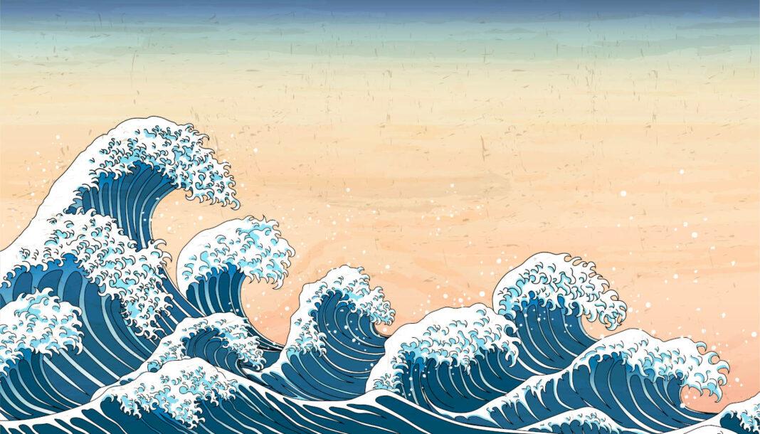 Japan waves concept
