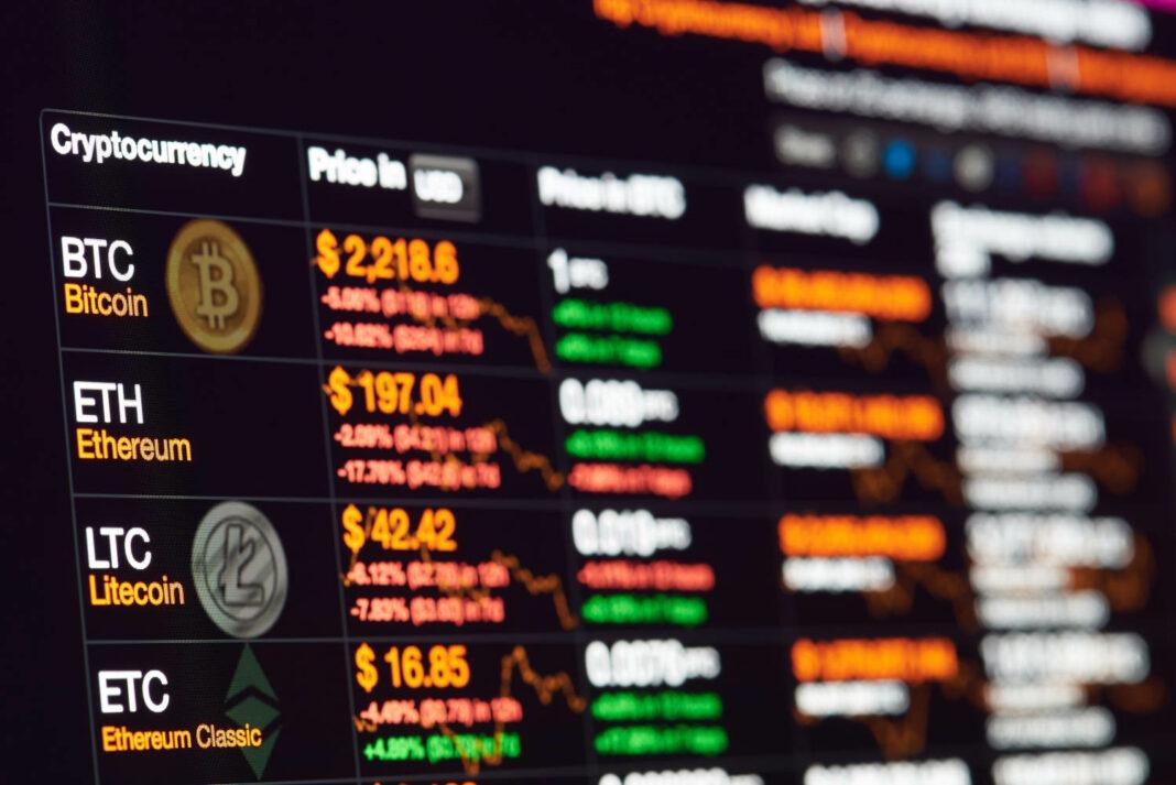 Crypto exchange terminal