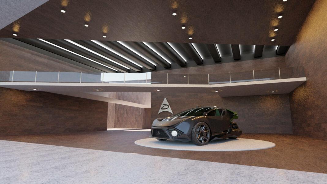 Canadian electric vehicles manufacturer Daymak's Spiritus car model