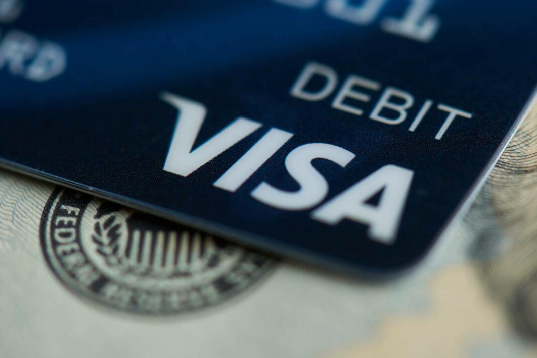Visa electronic card