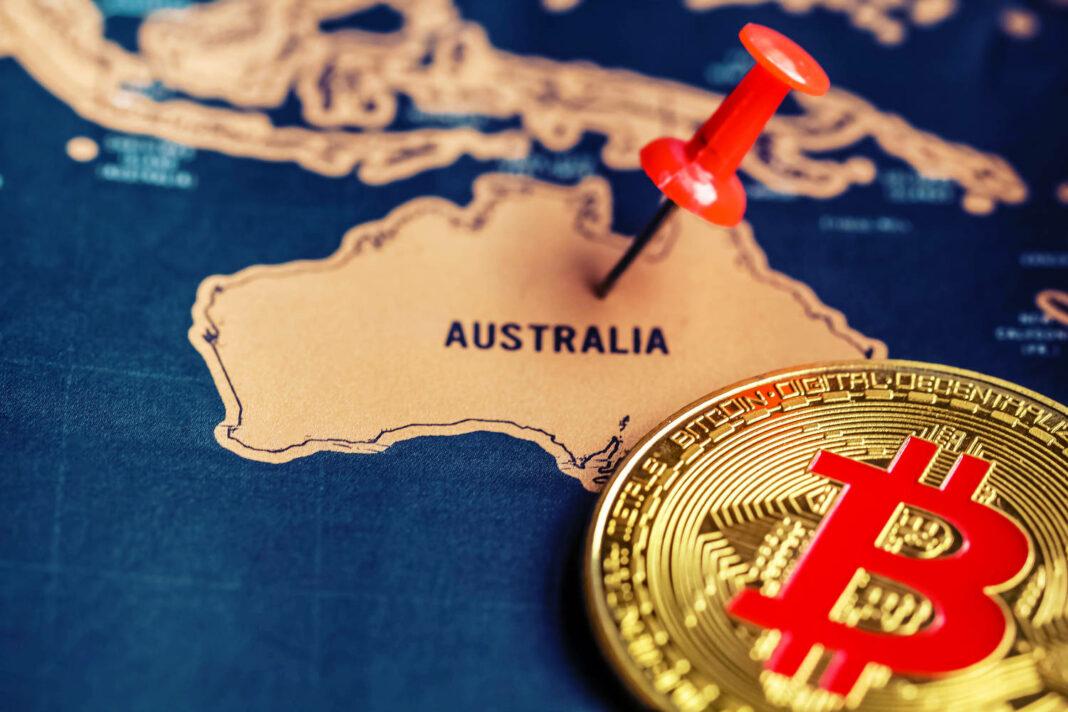 Bitcoin on Australia (map)