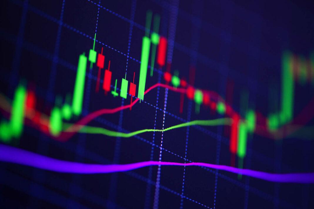 Stock graph charts