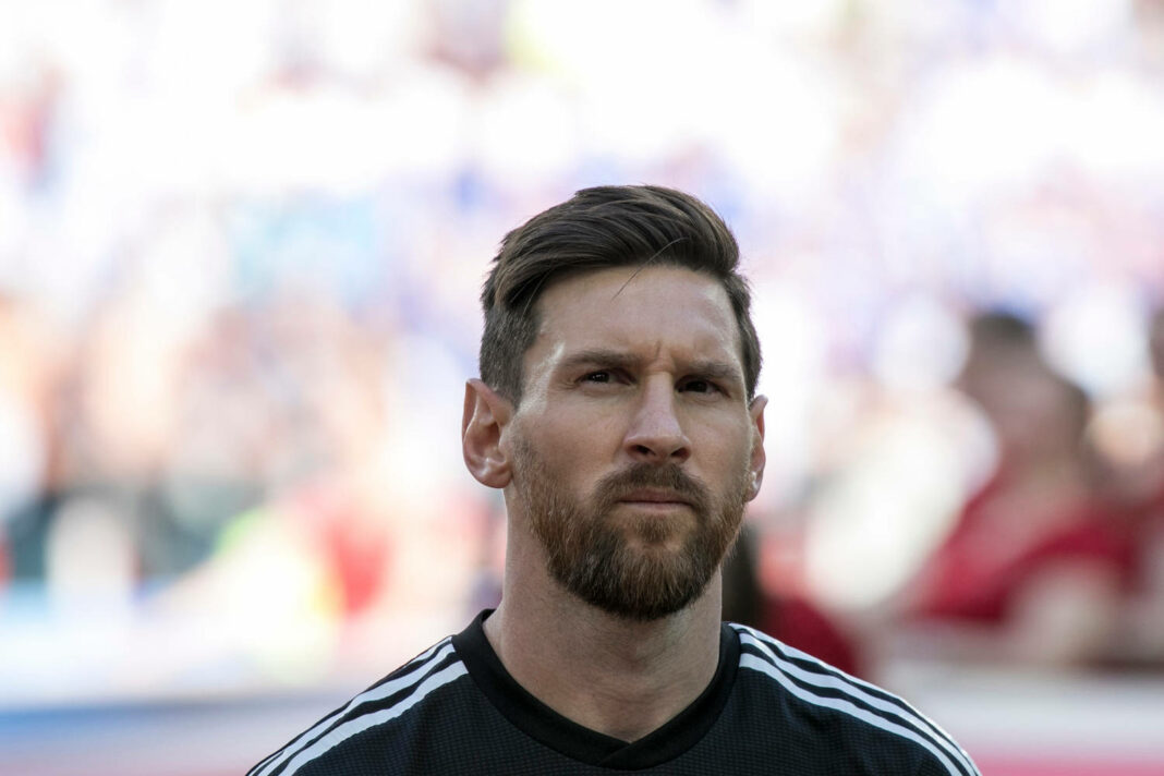 Lionel Messi at World Cup 2018