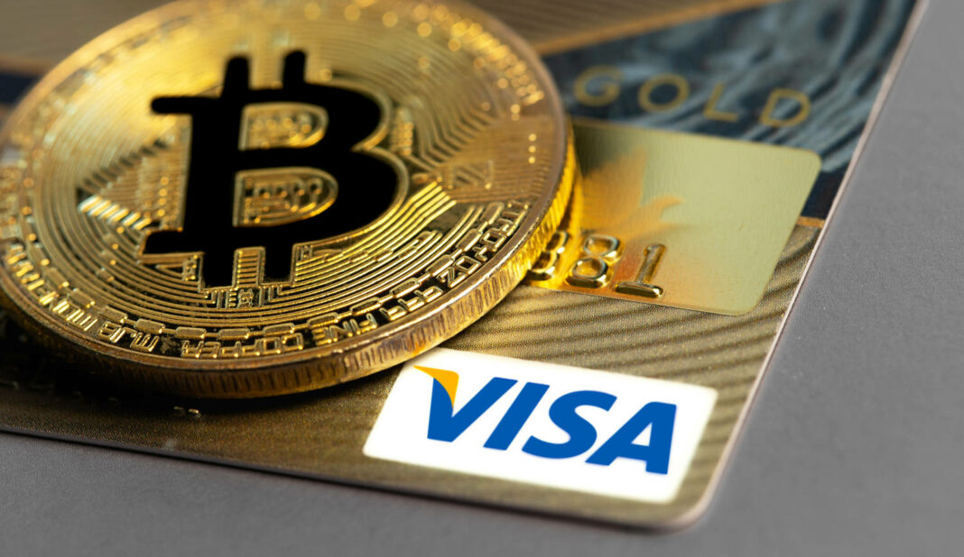 bitcoin cryptocurrency with Visa credit card
