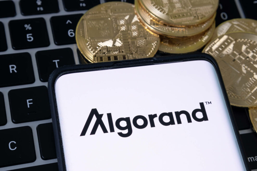 Algorand cryptocurrency platform logo