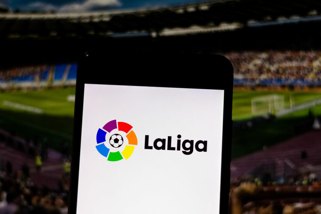 Primera Division logo of Liga de Fútbol Profesional