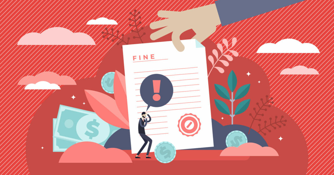 Pay fine vector illustration