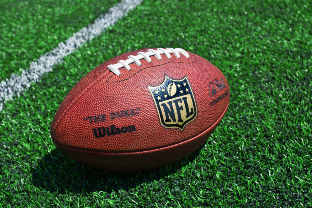 official ball of the NFL football league